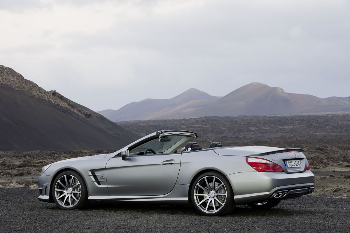 2013 Mercedes-Benz SL63 AMG Overview