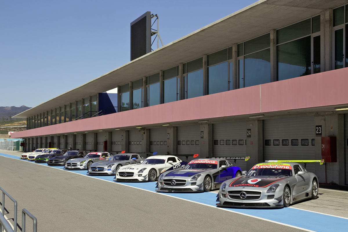 "AMG Customer Sports: Preparing for the season on the Autódromo Internacional do Algarve"" in Portimão"
