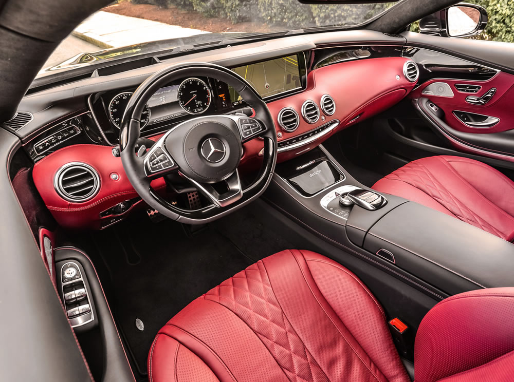 S550 4matic Coupe Interior Emercedesbenz