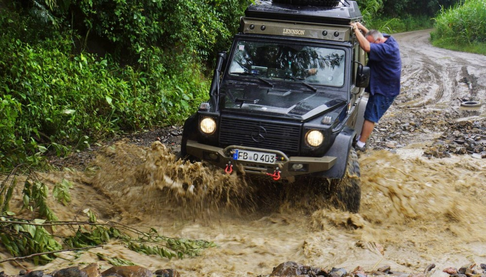 Mercedes-Benz Goes Off-Road in South America