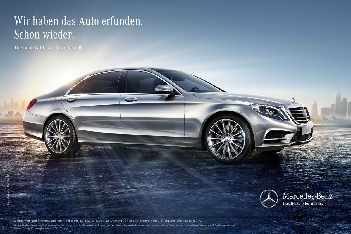 2014 mercedes s class ad campaign emercedesbenz. Black Bedroom Furniture Sets. Home Design Ideas