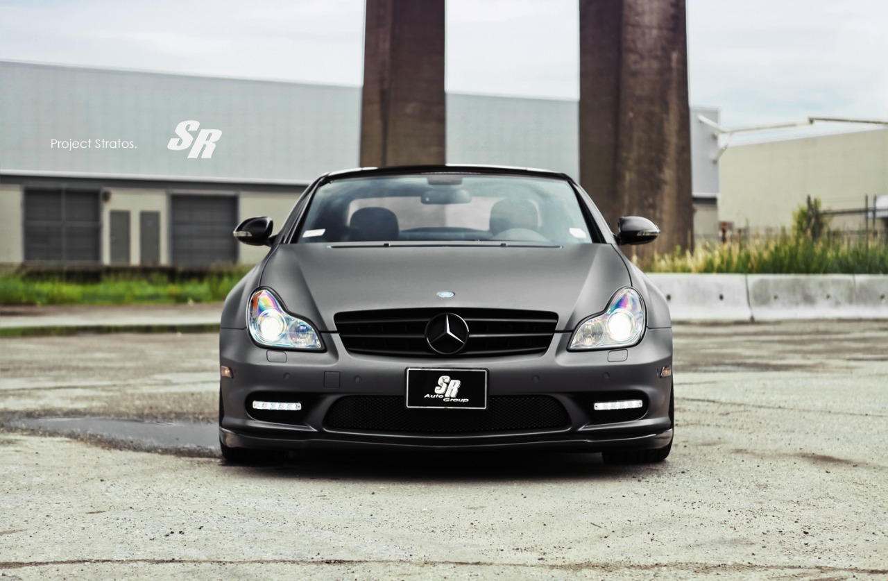 Mercedes CLS63 AMG Stratos by SR Auto Group