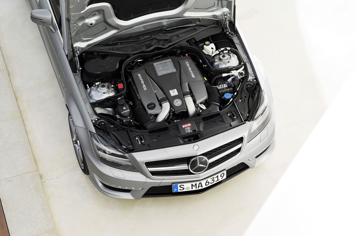 "Mercedes CLS 63 AMG Shooting Brake and the CLS 63 AMG Shooting Brake ""Edition 1"""