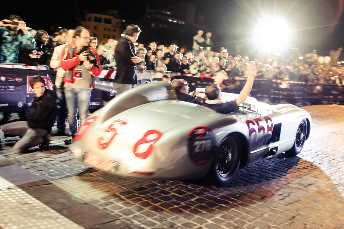 Mercedes-Benz at the 2013 Mille Miglia