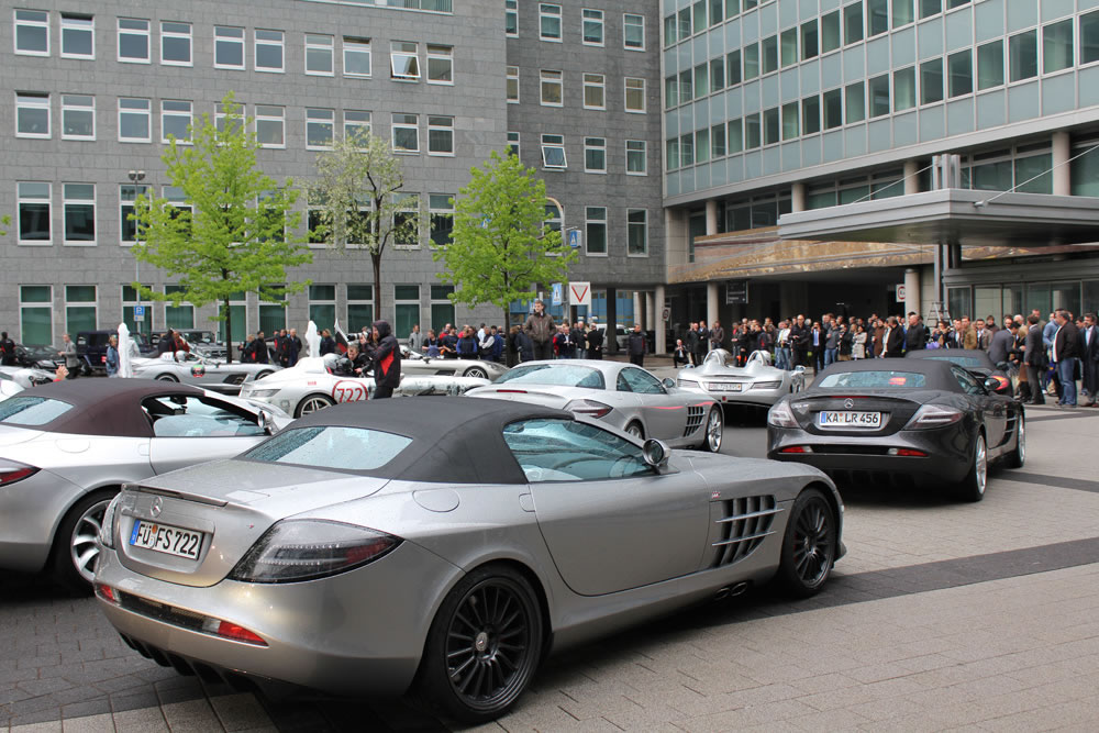 2012 Mille Miglia To Include 25 Mercedes SLR Models