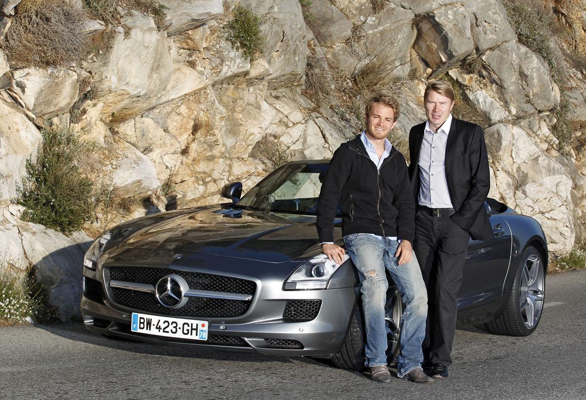 Nico Rosberg, Mika Hakkinen