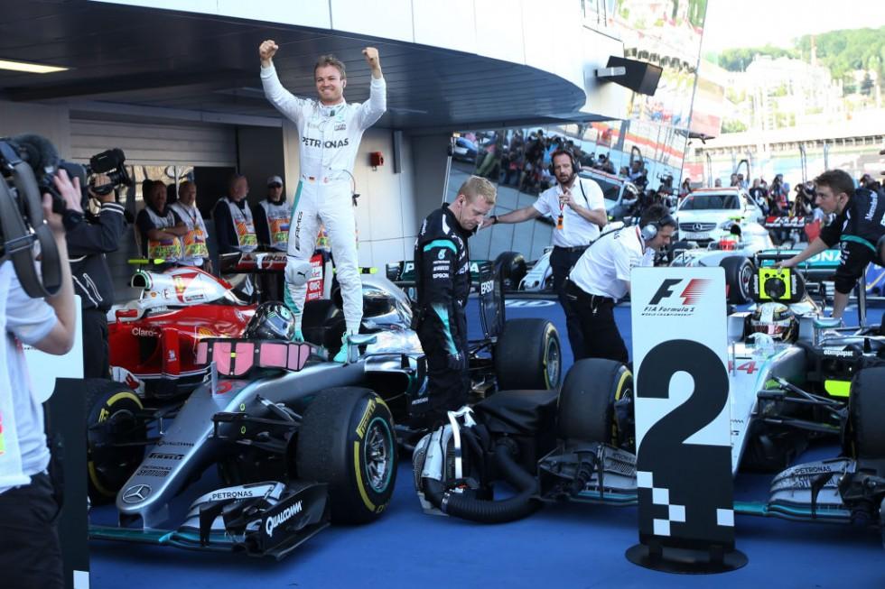 Formula One - MERCEDES AMG PETRONAS, Russian GP 2016