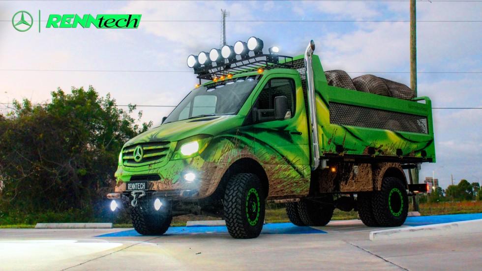 Sprinter Extreme concept has super strength