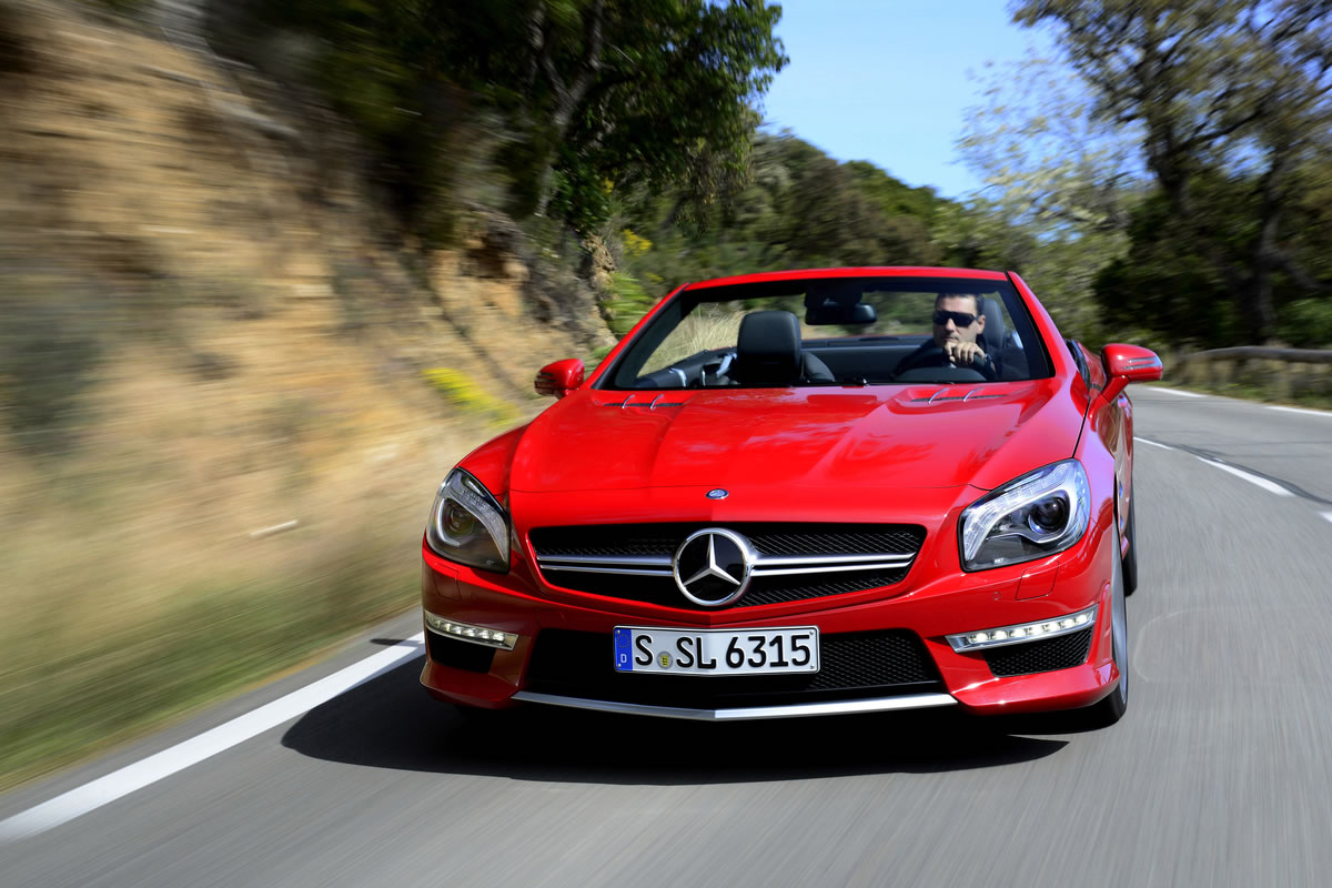 Which Would You Rather – the SL63 AMG or the SL65 AMG