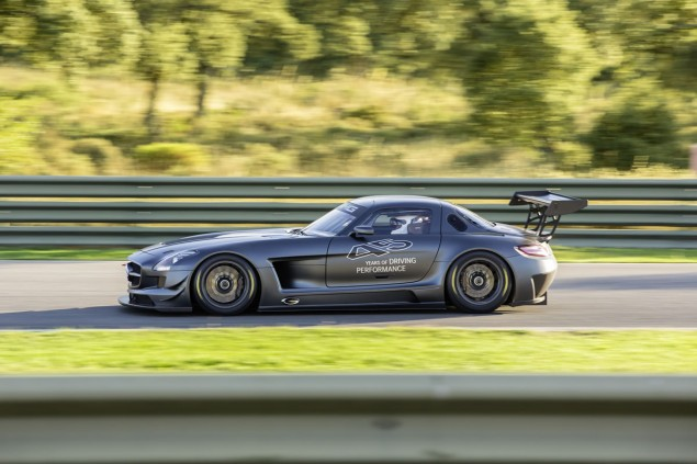 Mercedes SLS AMG GT3 45th Anniversary Edition