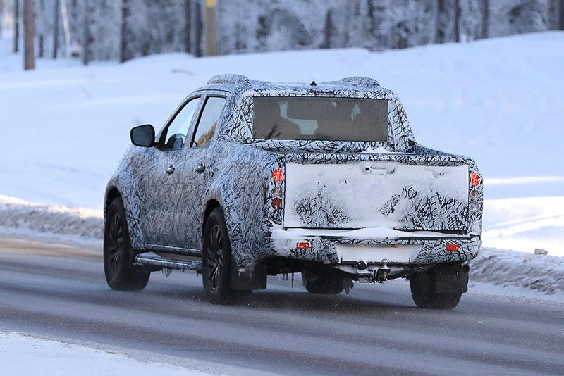 Spy Shots: Mercedes-Benz's X-Class Pickup Truck