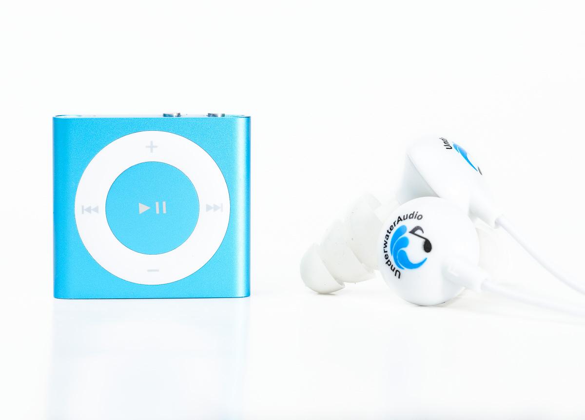 Waterproof iPod Shuffle Swimbuds Bundle