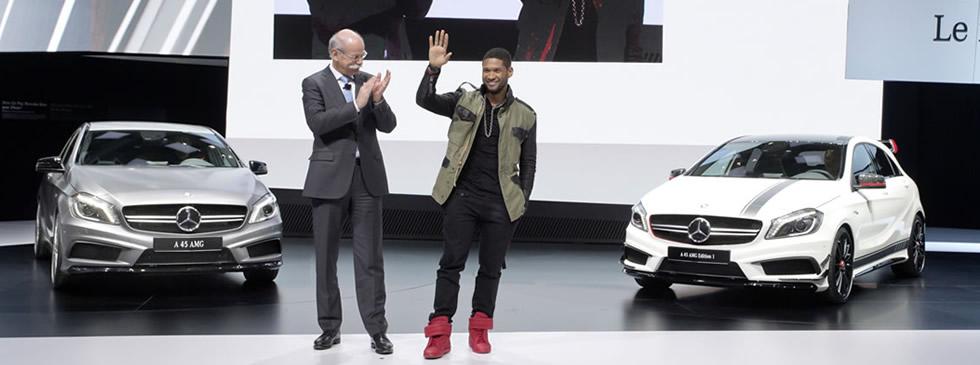 Usher Mercedes