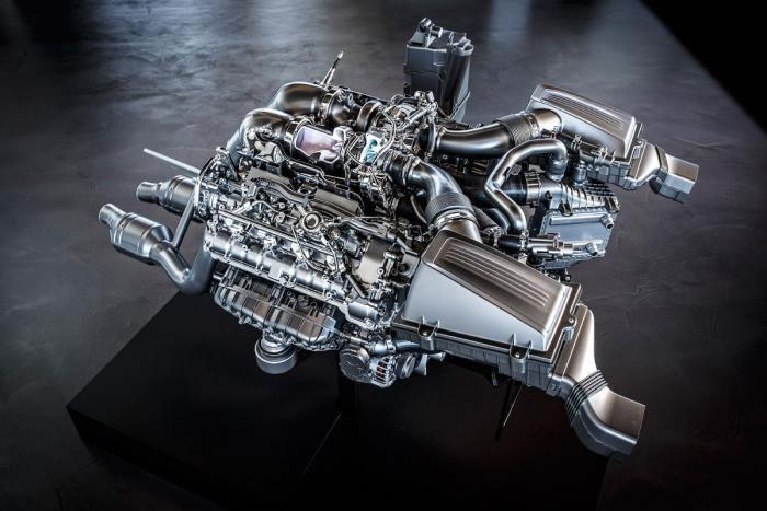 Mercedes AMG GT Engine