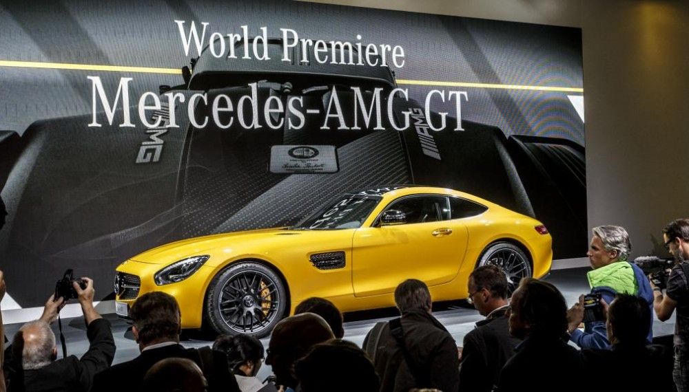 A Good Look at the 2016 Mercedes-AMG GT