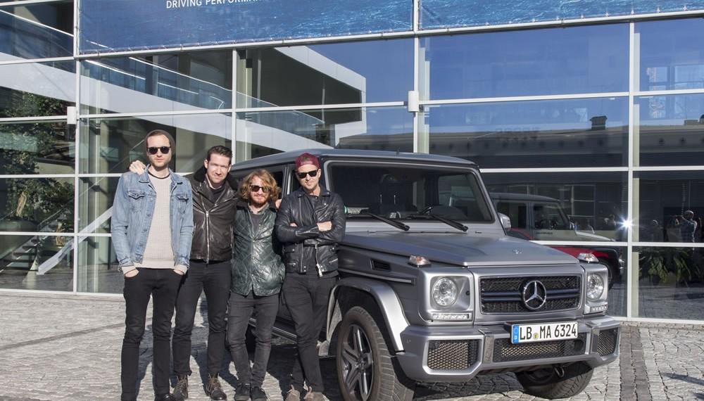 OneRepublic singer Ryan Tedder becomes Mercedes-Benz brand ambassador