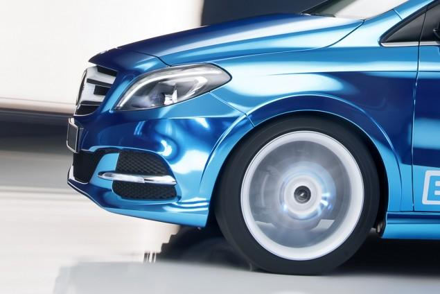Mercedes-Benz B-Class Electric Drive wheel