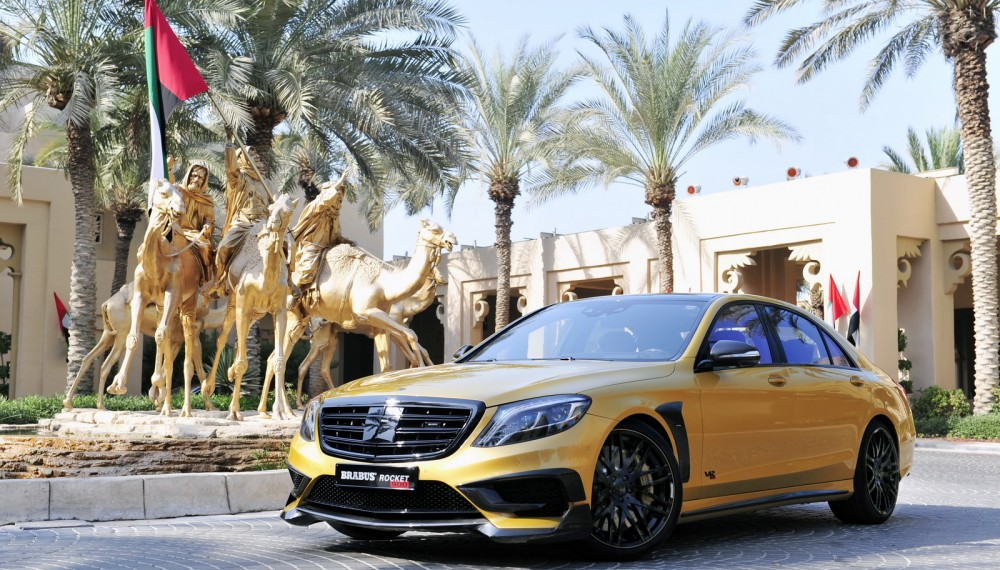 "BRABUS ROCKET 900 ""DESERT GOLD"" Edition"