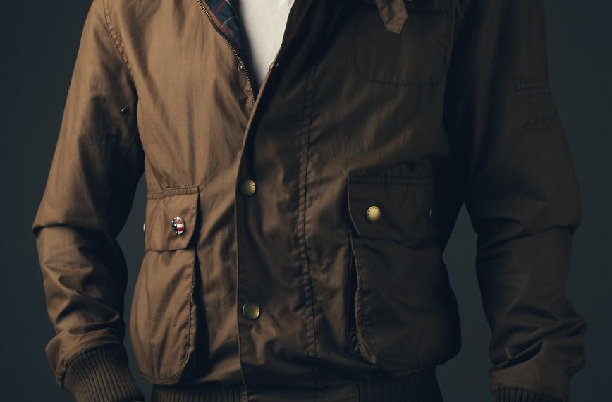 Barbour Flyer Jacket