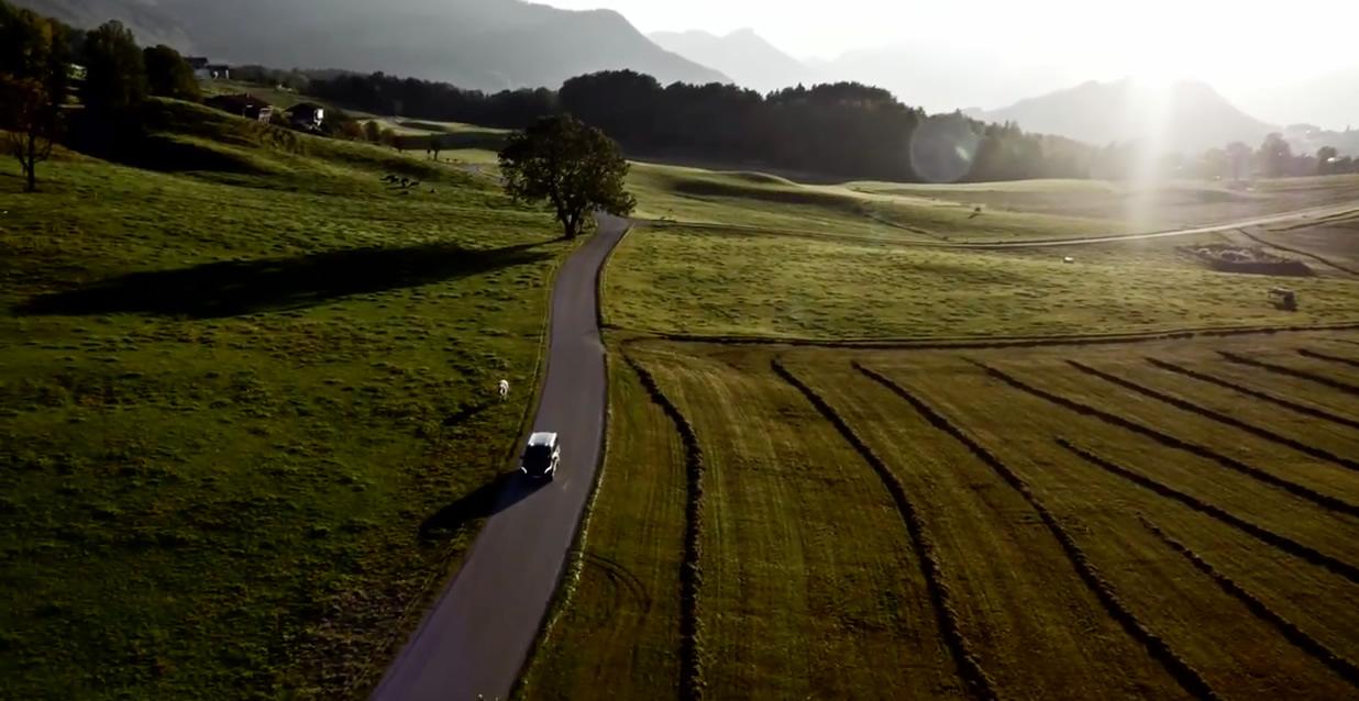 bavaria countryside mountain biking david feckler mercedes-benz vito