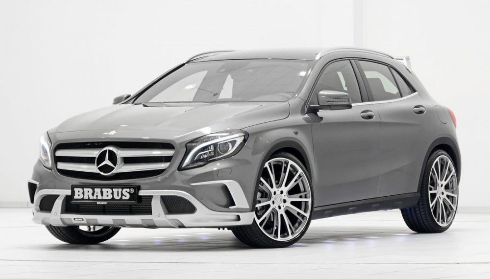 BRABUS Takes on the Mercedes GLA-Class