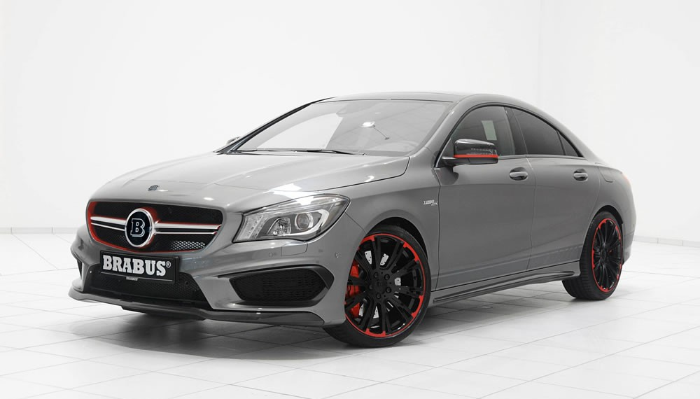 Mercedes CLA 45 AMG Modified by Brabus