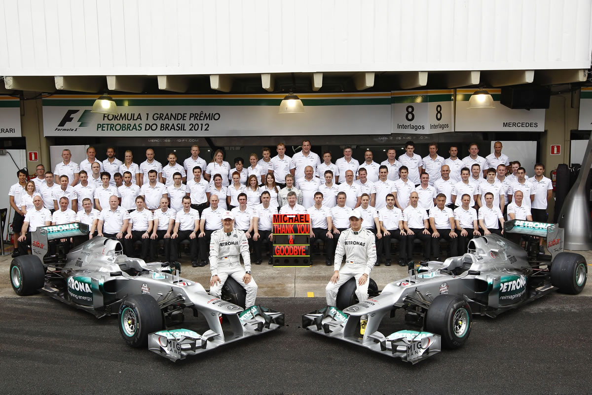2012 Brazilian Grand Prix Marks the End of Schumacher's Career