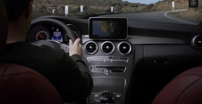 """2015 C-Class Commercial """"Touchpoint"""""""
