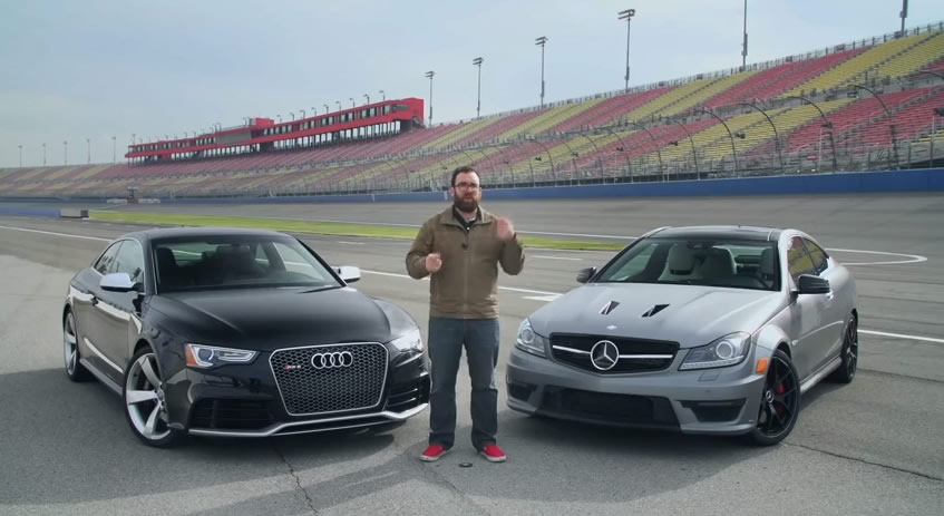 Who Will Win - 2014 Audi RS5 vs 2014 Mercedes-Benz C63 507 Coupe