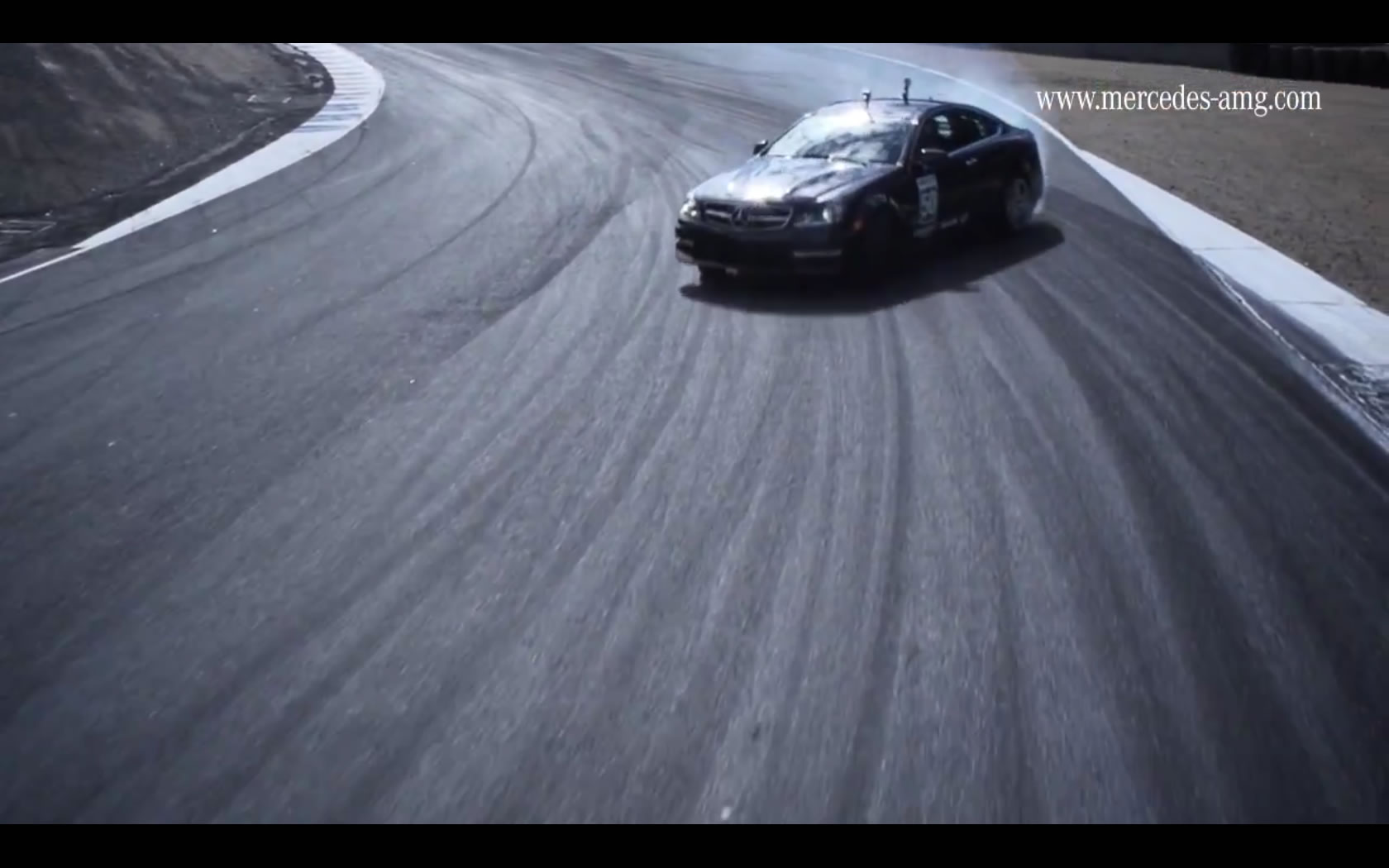 Mercedes C63 AMG Coupe Drifting the Corkscrew - Video Update