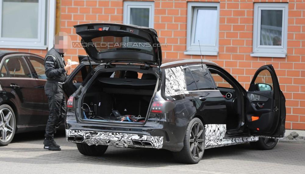2015 Mercedes-Benz C63 AMG Estate Prototypes