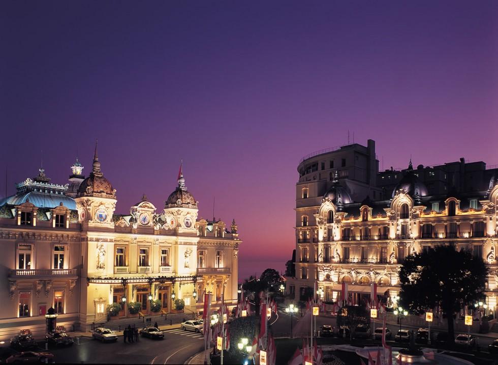 Casino de Monte Carlo and Hotel de Paris