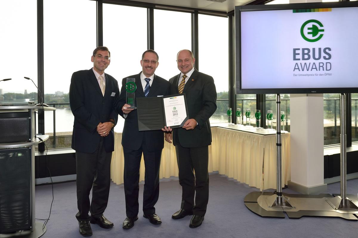 EBUS Award Given to the Citaro FuelCELL Hybrid Bus