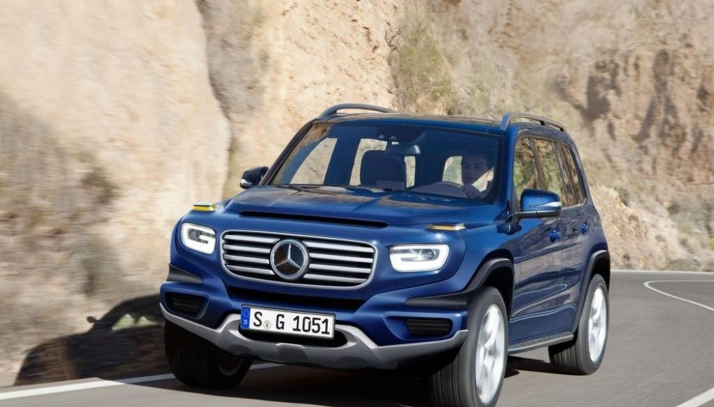 Mercedes-Benz G-Class for City Streets