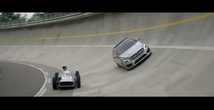 "Mercedes-Benz 2015 CLA Commercial ""Record"""