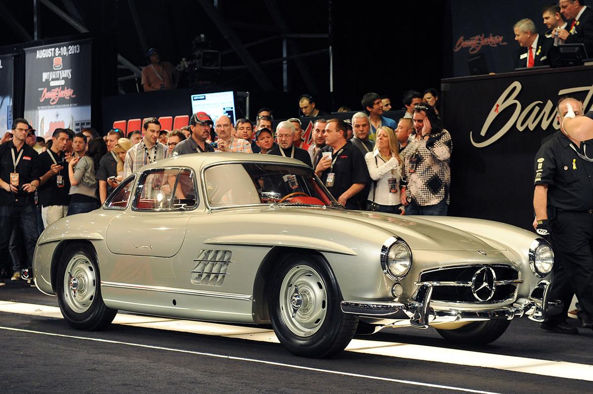 1955 Mercedes-Benz 300 SL Gullwing auction