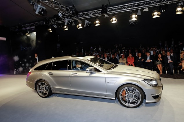 CLS63 AMG Shooting Brake TV Commercials