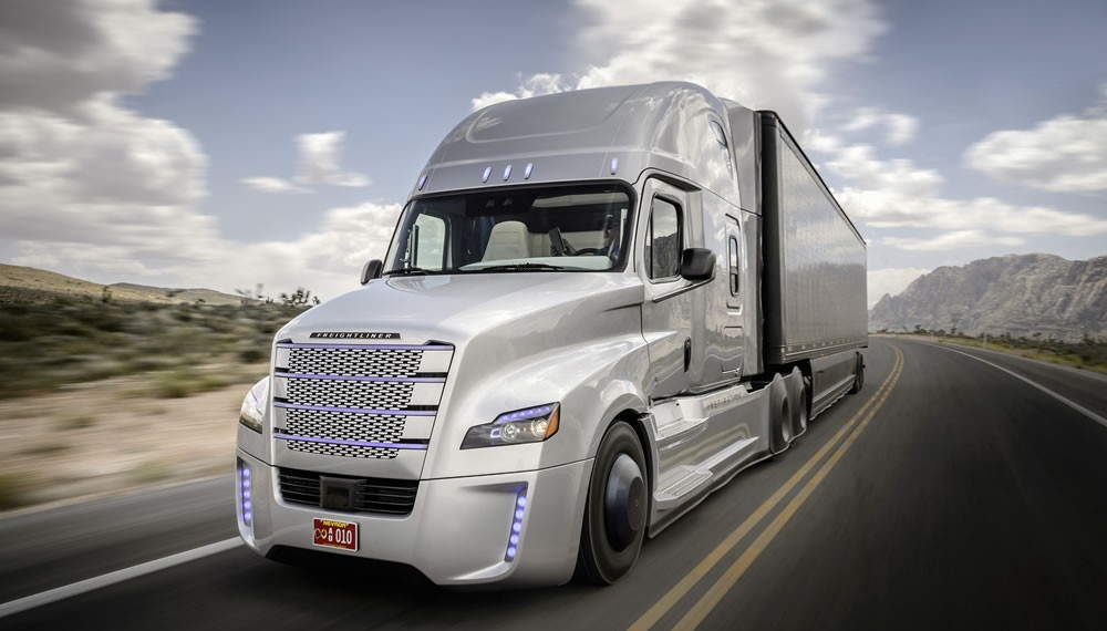 Daimler Sets Guinness World Record During Truck Premiere
