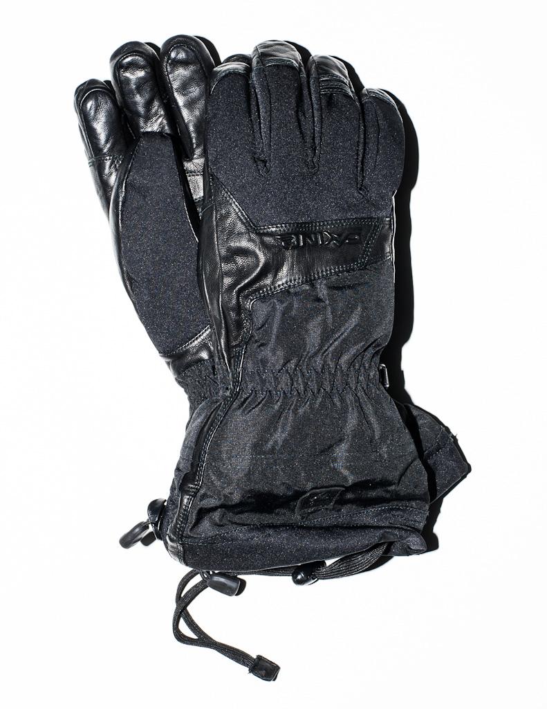 Dakine Black Gloves