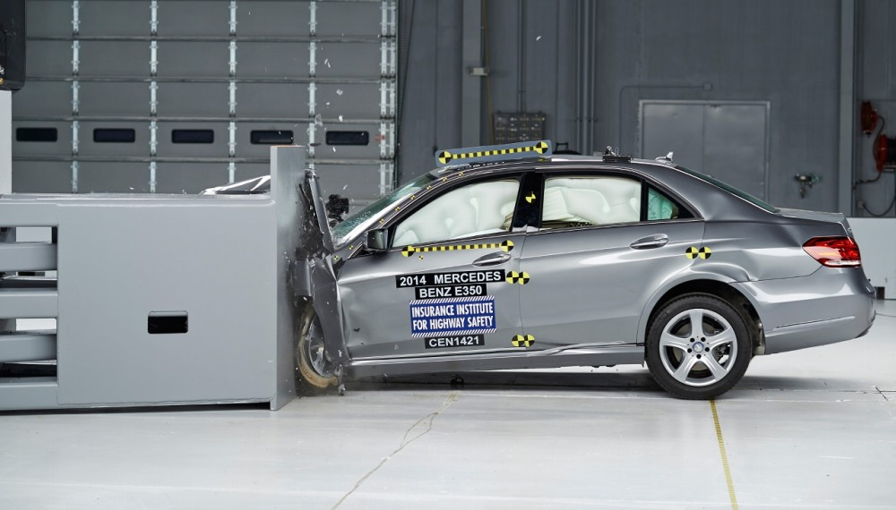 Mercedes-Benz E-Class Earns Top Safety Pick+ Award