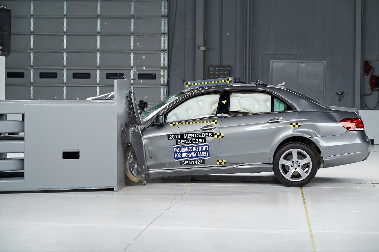 Mercedes-Benz E-Class Earns Top Safety Pick+ Award