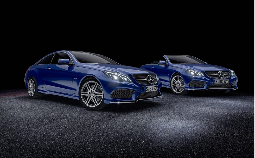 Mercedes-Benz E-Class Coupé and Cabriolet Sport Edition