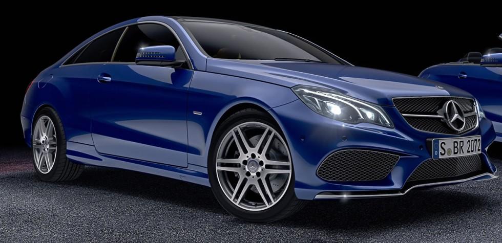Mercedes-Benz E-Class Coupé and Cabriolet Sport EditionMercedes-Benz E-Class Coupé and Cabriolet Sport Edition