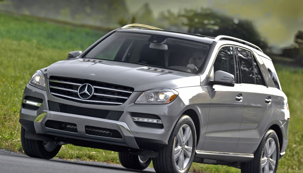 Mercedes-Benz M-Class Awarded Top Safety Pick+