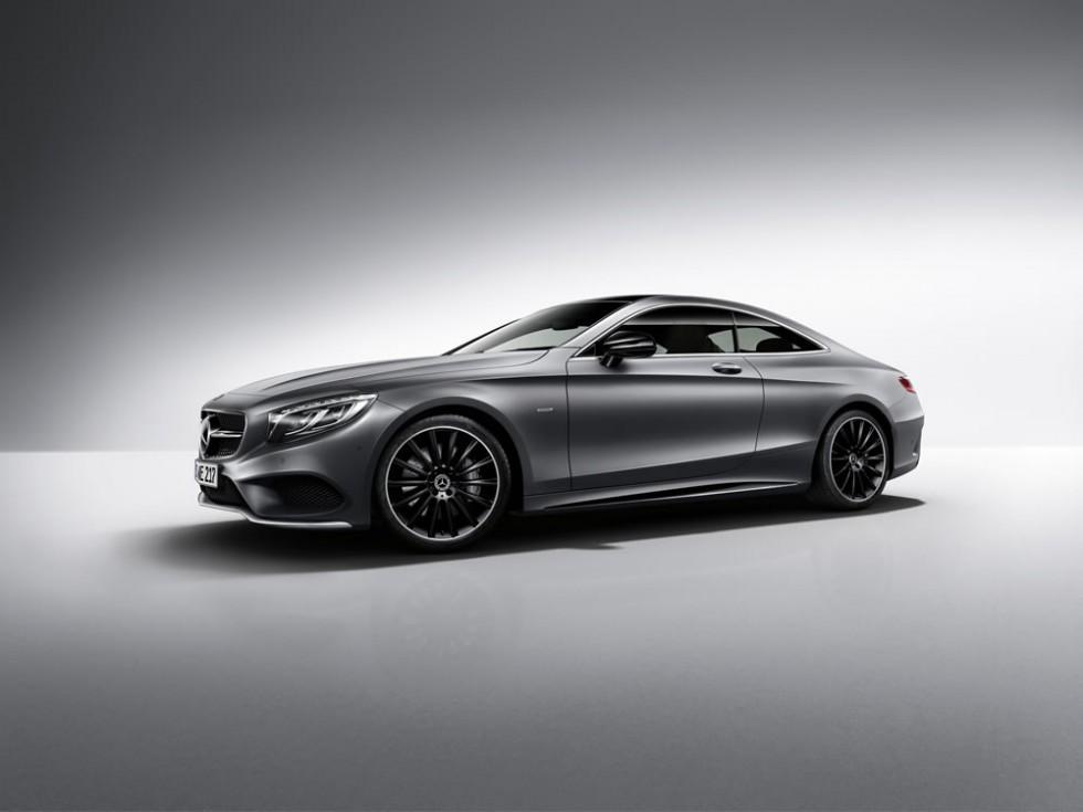 Exclusive coupé now even more exclusive