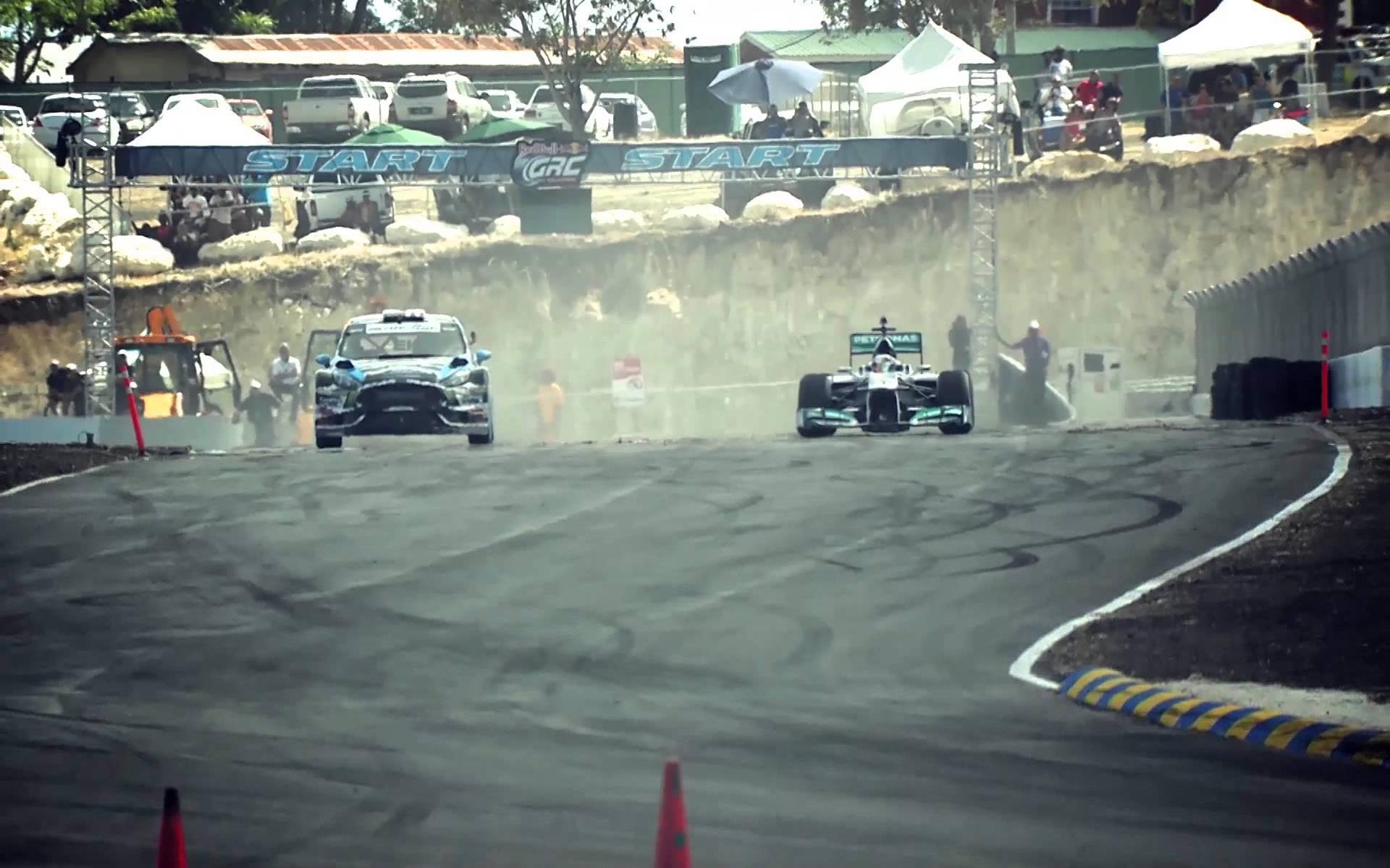 Formula One Vs. Rallycross - VIDEO