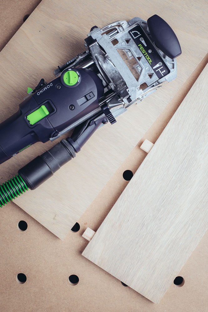 Festool Domino joining plywood