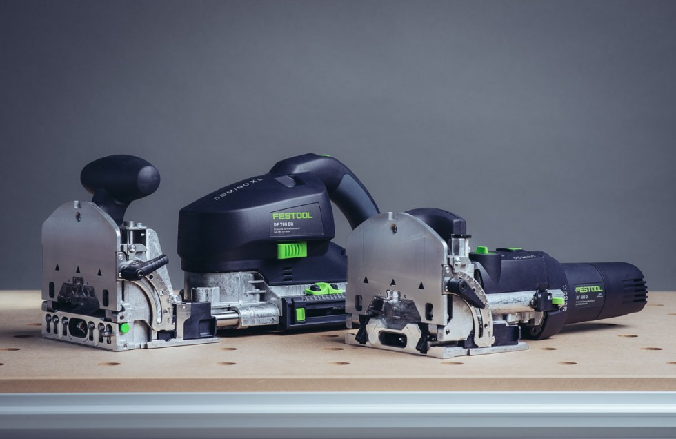 Festool Domino and Domino XL comparison front