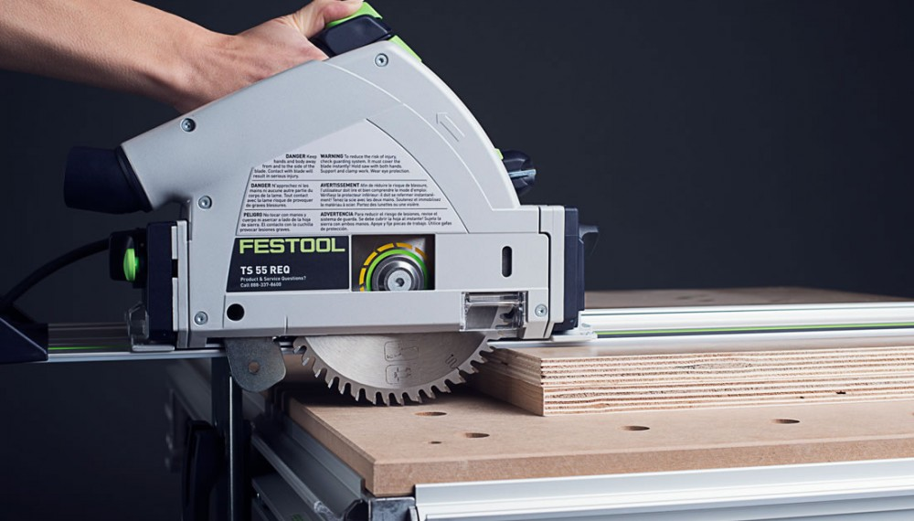 Festool TS55 REQ Cutting