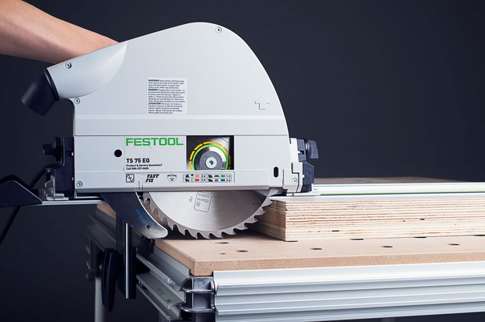 Festool TS75 EQ Cutting